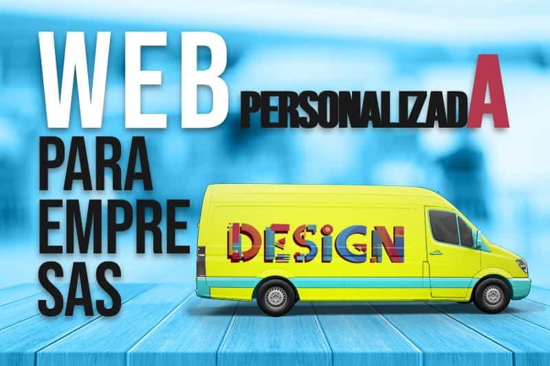 web personalizada para empresas
